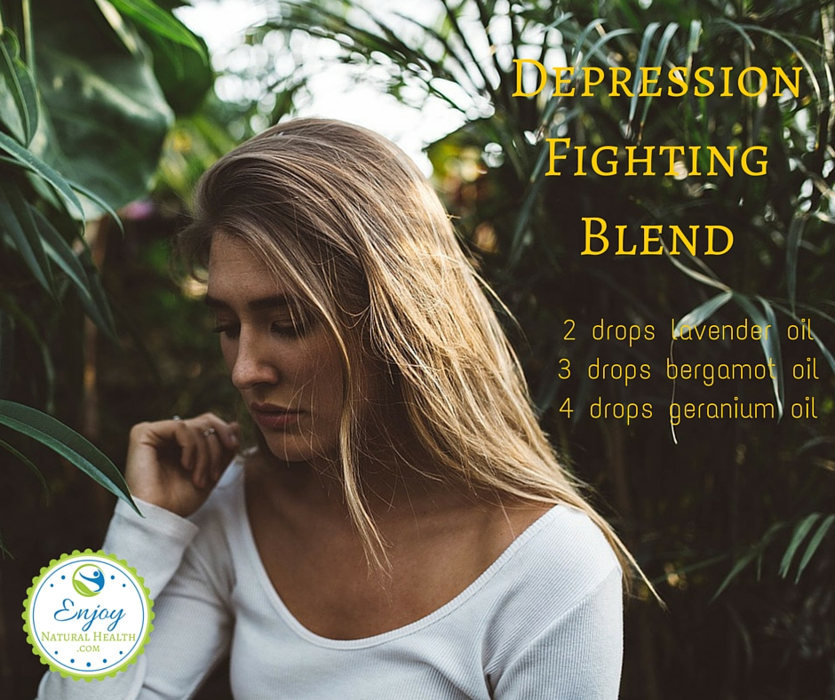 Depressed? Diffuse this depression fighting blend and feel better soon!