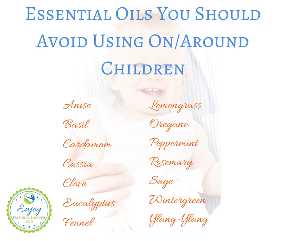 Essential Oils You Should Avoid Using On or Around Children. Click to learn more about kids and essential oils
