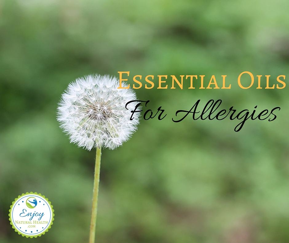 Learn how to use essential oils for allergies