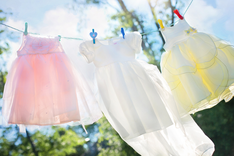 Freshen up your laundry with a few drops of essential oil in the drying cycle.