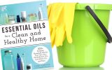 essential oils for cleaning book