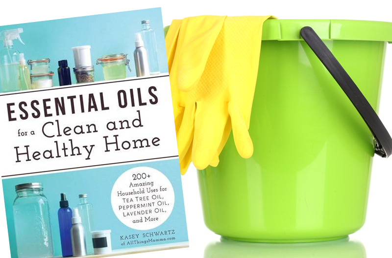 Essential oils for cleaning book: learn how to keep your home clean without chemicals!