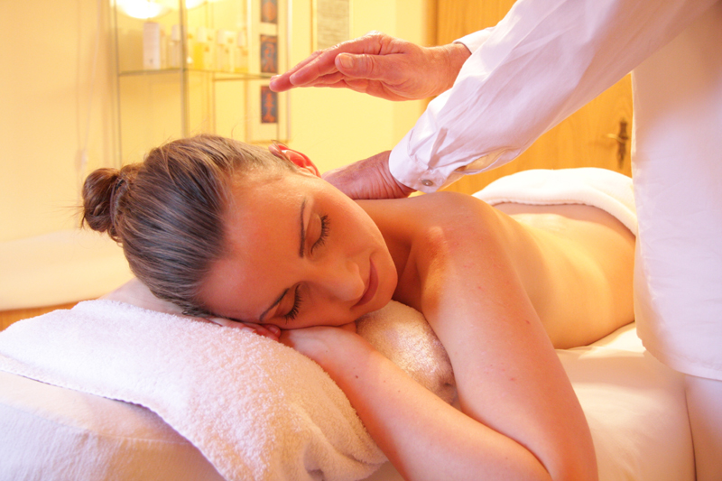 Getting a massage with essential oils is one of the most fun ways to use essential oils ;)