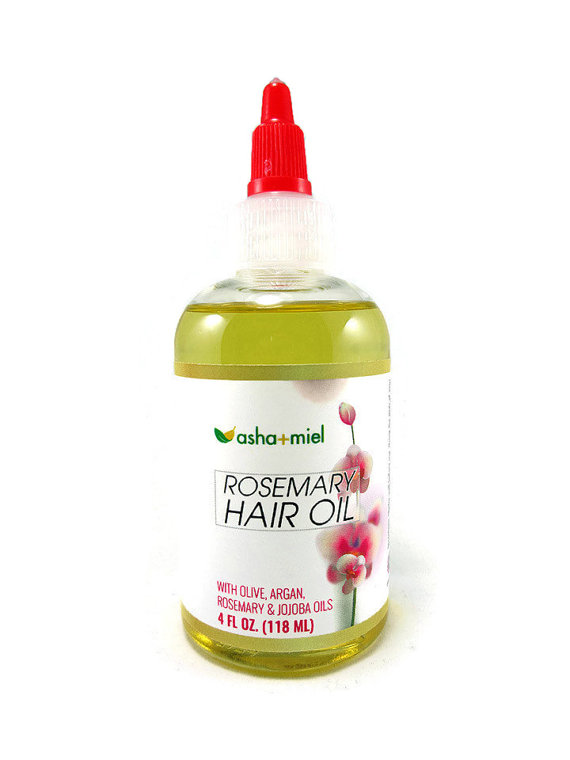 Rosemary hair oil - great natural treatment that will help your hair grow healthier