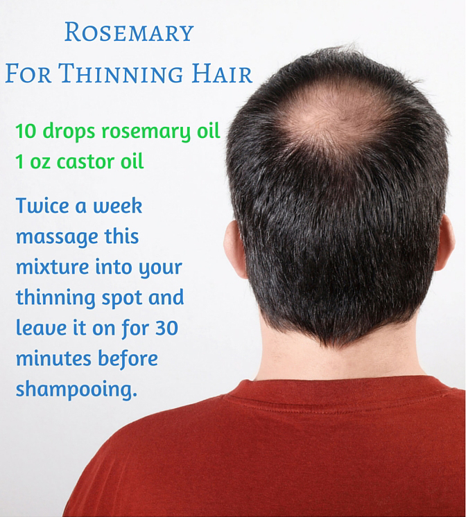 Rosemary For Thinning Hair