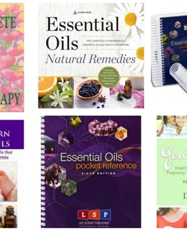 essential oil books