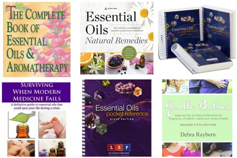 essential oil books