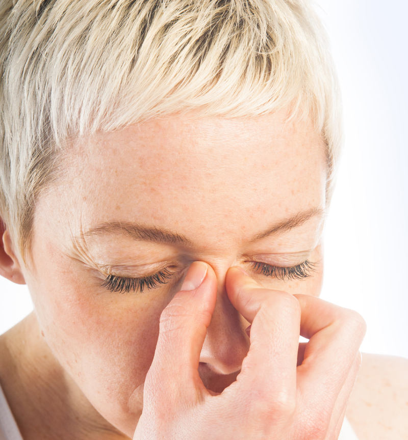 Learn how to use essential oils for sinus infection