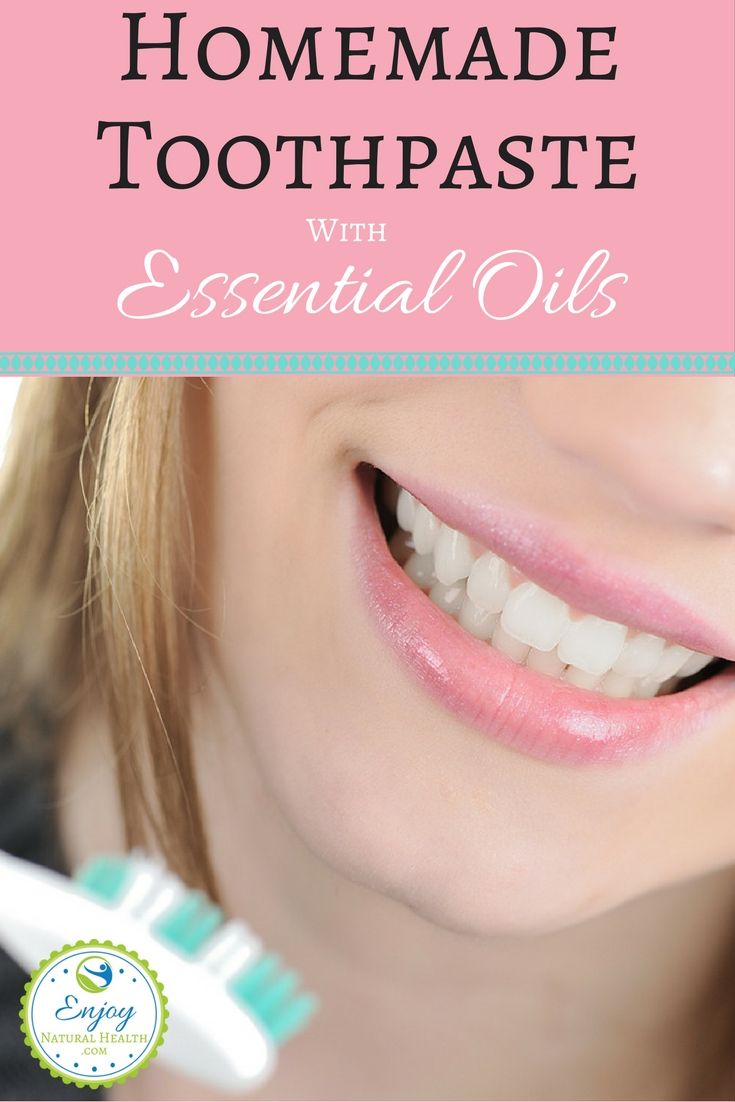 Make your own toothpaste with essential oils for better dental care