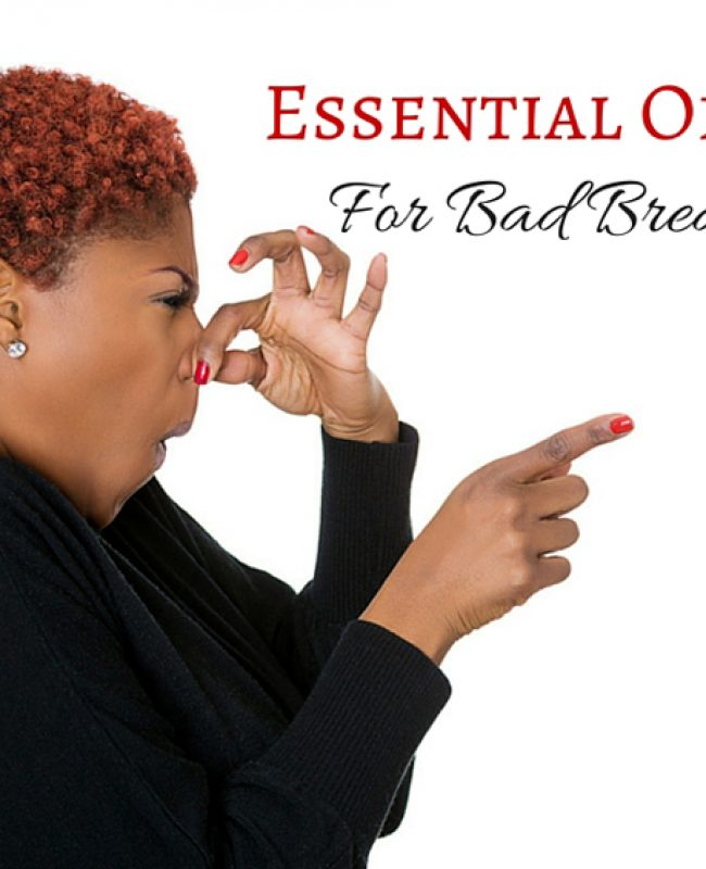 essential oils for bad breath