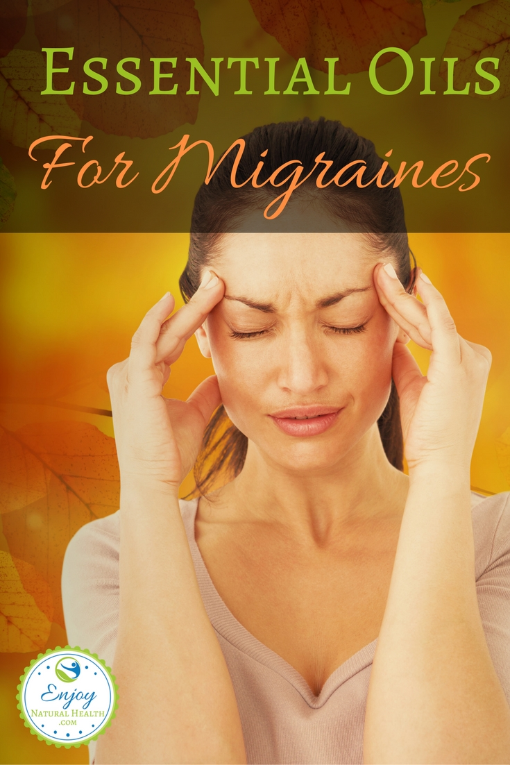 Migraines are no fun! I know it too well :( Use these 5 essential oils to help ease the pain and eliminate some of the triggers that cause these horrible headaches!