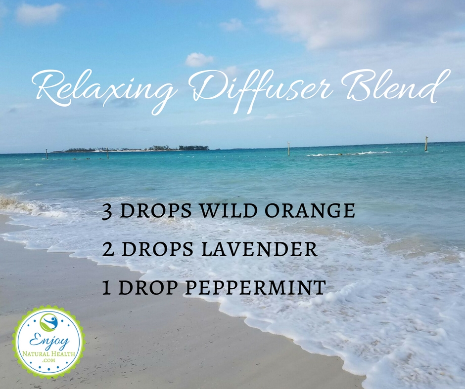 Relaxing diffuser blend