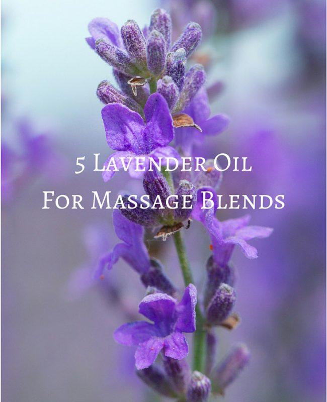 lavender oil for massage