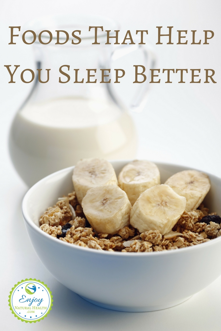 Do you struggle with insomnia? These foods that aid sleep are a great natural alternative to sleeping pills.