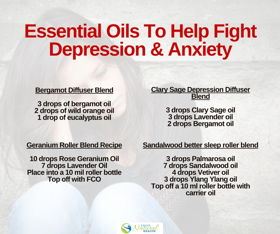 11 Essential Oils That Help Fight Depression Recipes Included