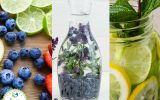 Fruit Infused Water Ingredients and Samples