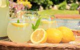 drink lemon water in the morning