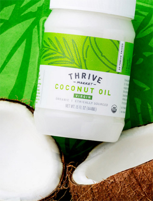 get a free jar of coconut oil