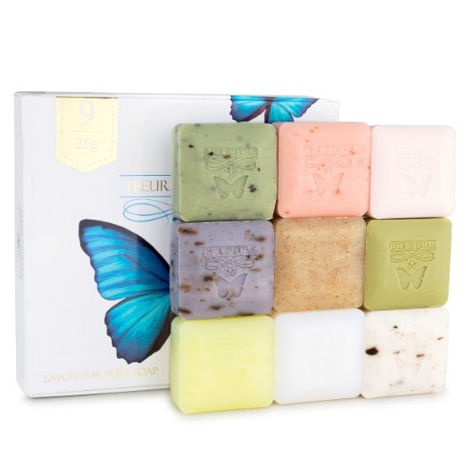 Triple Milled ALL NATURAL soaps scented with natural essential oils