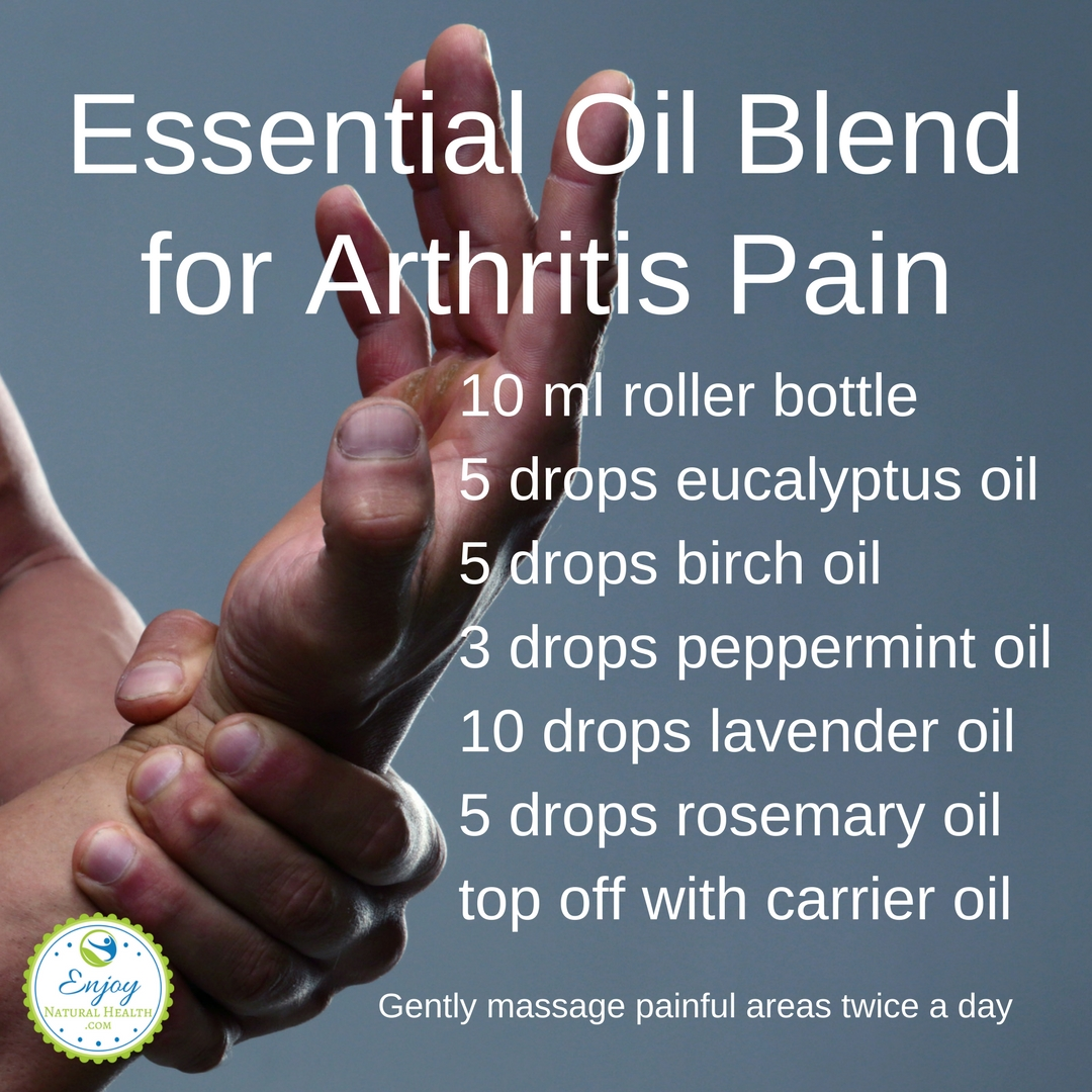 Essential Oil Blend for Arthritis Pain