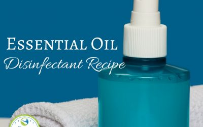 Essential Oil Disinfectant Recipe