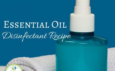 Essential Oil Disinfectant Recipe