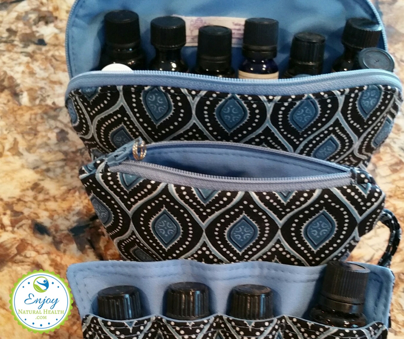 These essential oils storage cases are easy to carry anywhere you go. I LOVE mine!