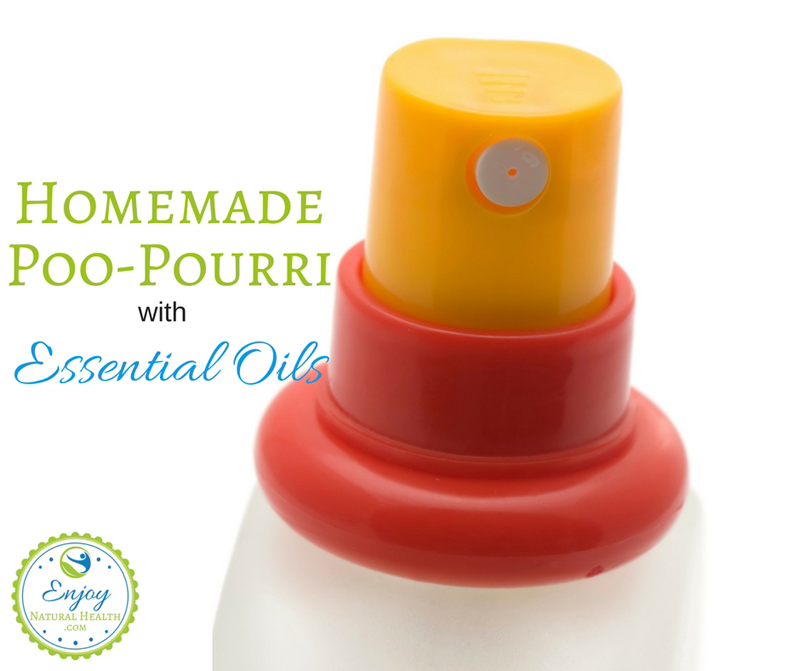 Homemade Poo-Pourry with Essential Oils