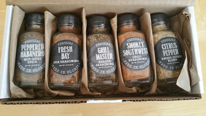freshjax grilling spices