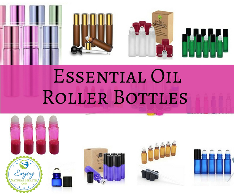 Check out the huge selection of essential oil roller bottles available in one place for your convenience!