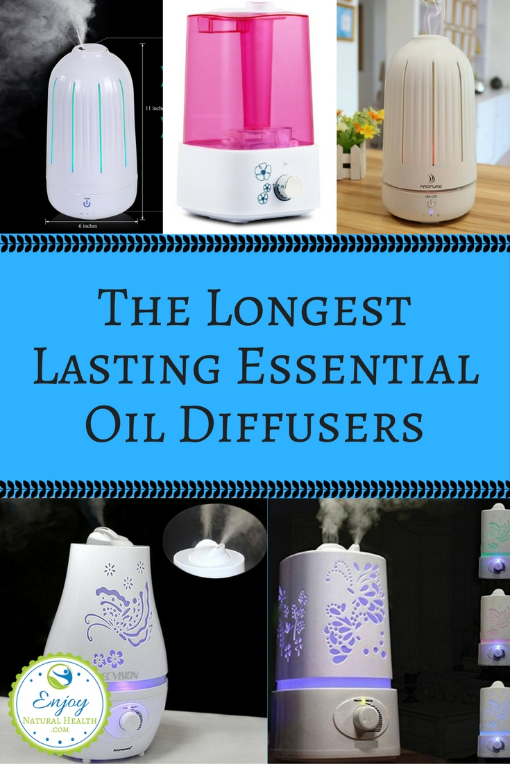 I hear it all the time: we need an essential oil diffuser that is efficient for larger rooms and /or that lasts all night. Well, I've done the research for you, and here are the 5 largest essential oil diffusers, with a capacity of 1500 -2000 ml, and last for a LONG time! As a bonus, all 5 are under $35.