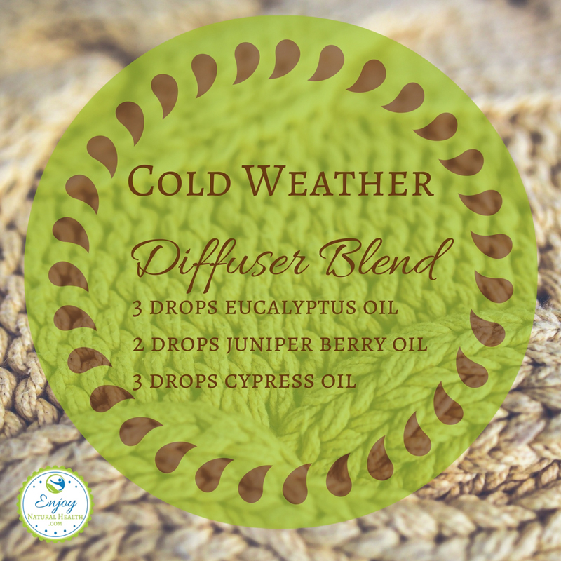 As the weather cools off, enjoy this cold weather diffuser recipe