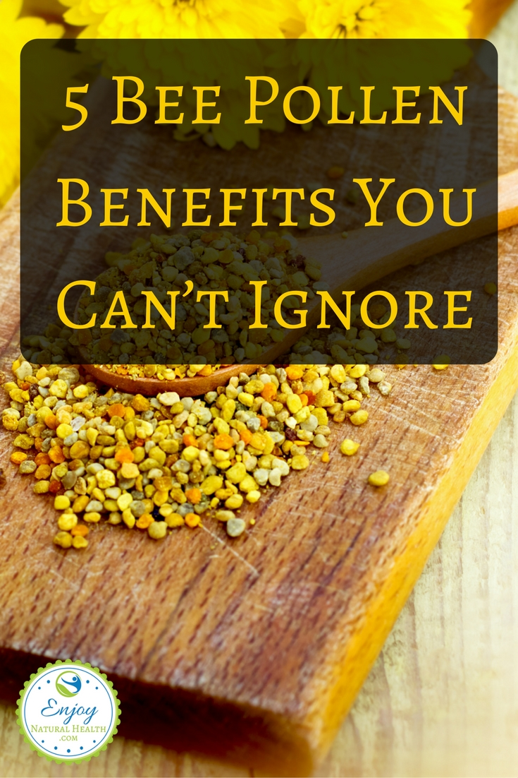 See why you should add this to your diet today! Five benefits of bee pollen you need to know about!