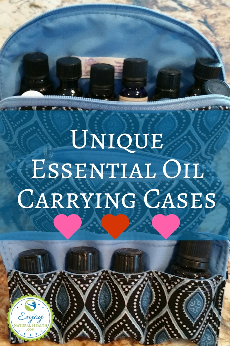 If you travel, you need an essential oil carrying case. I gathered several, so you can easily see which one will suit you best.