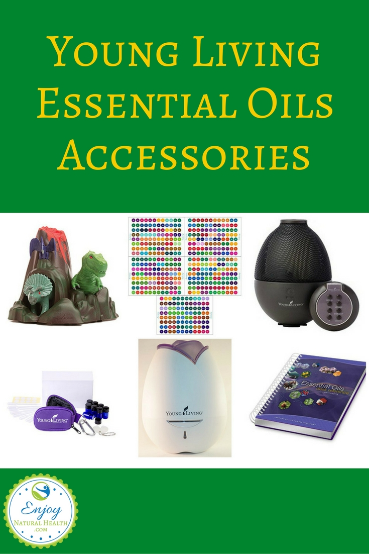 Here's a list of Young Living essential oils accessories and supplies: books, diffusers, carrying cases, labels, and more!!