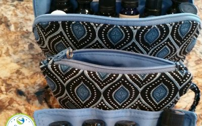Here are some unique essential oils carrying cases to hlep you keep your oils close by