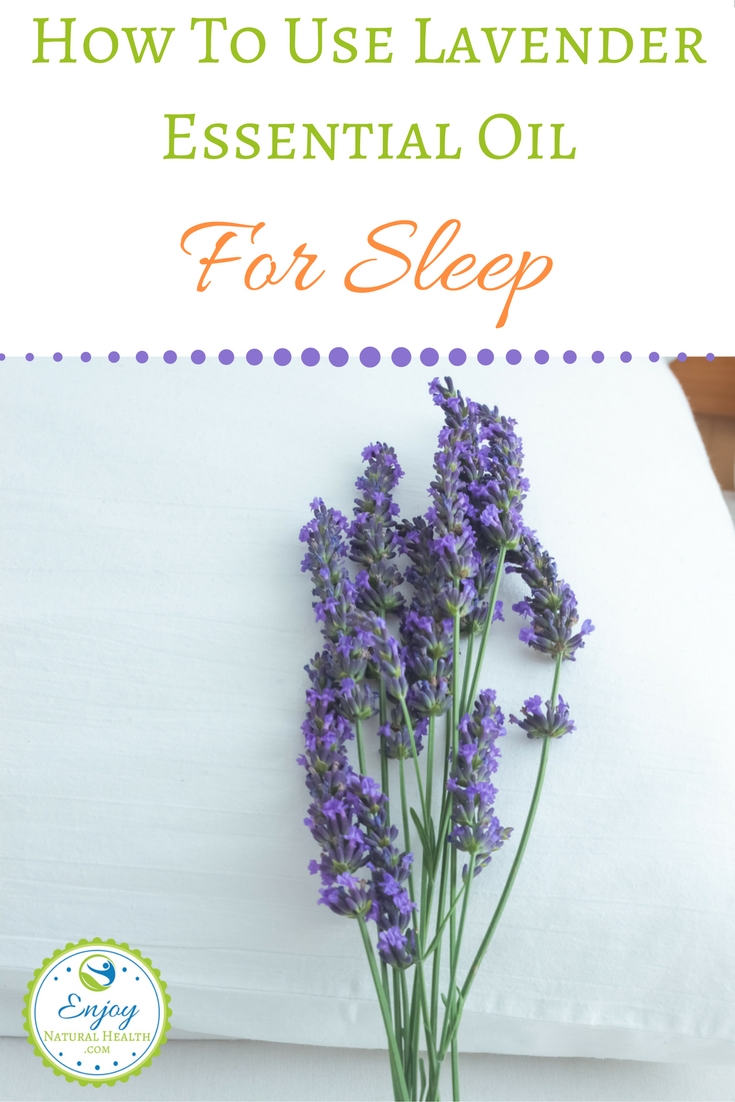 Find all the ways you can use lavender essential oil to sleep better. You'll be pleasantly surprised, and may end up sleeping like a baby ;)