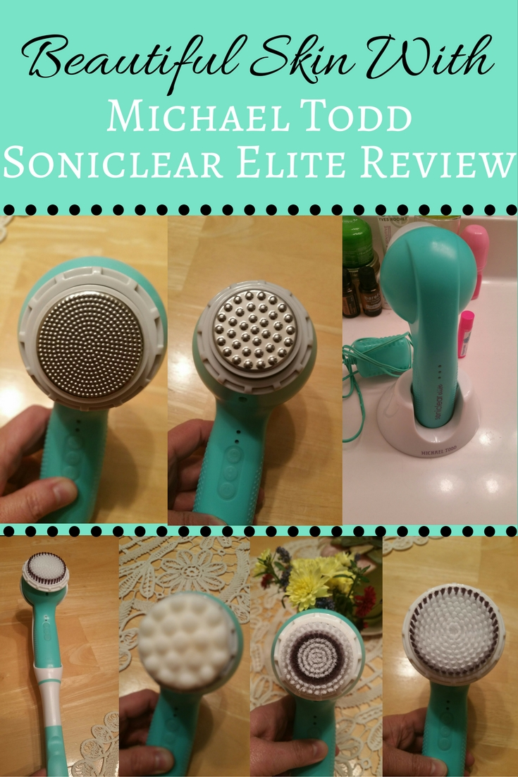 Help your skin look gorgeous with the help of Michael Todd Soniclear Elite system. Better than clarisonic, this system has antimicrobial protection for their brushes. Learn more by clicking on the image.