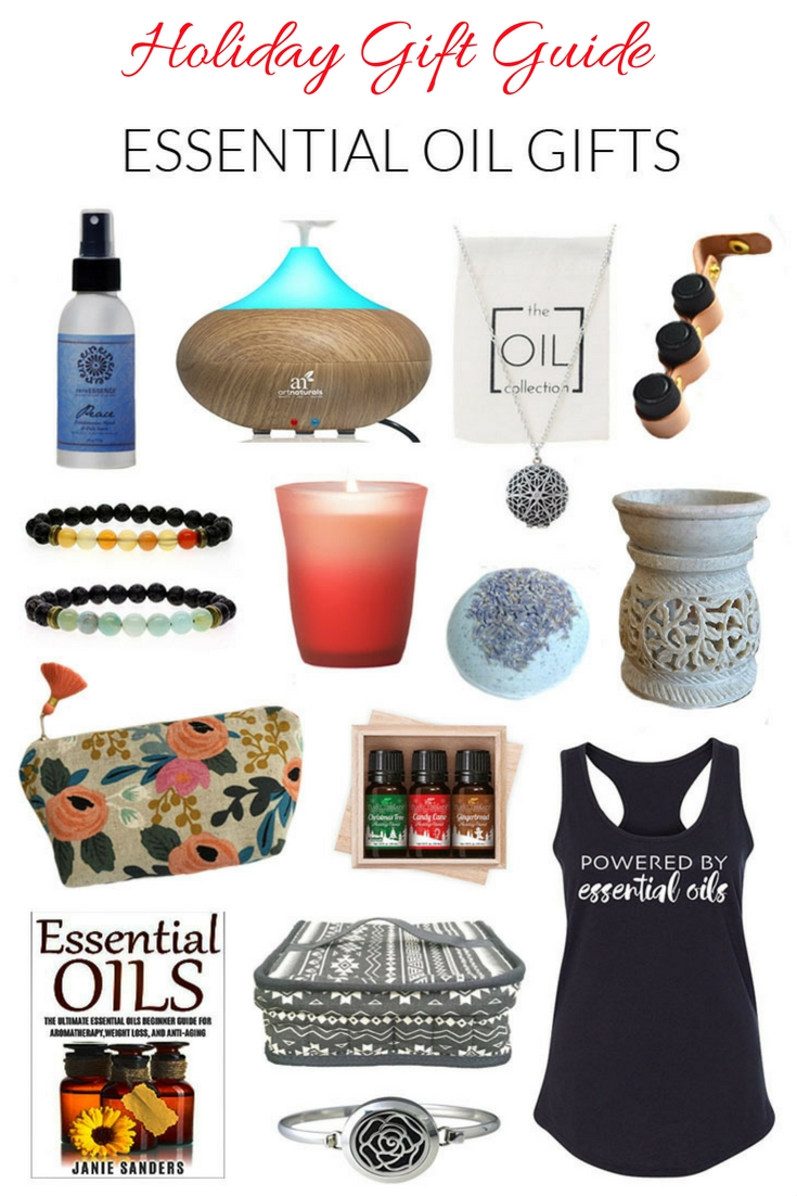 Essential oil gift ideas for everyone on your list