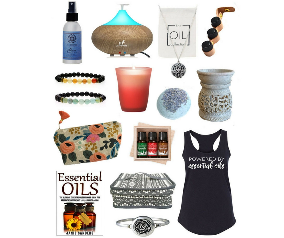 Looking for gifts for the essential oil lovers in your life? Here's a nice holiday gift guide!