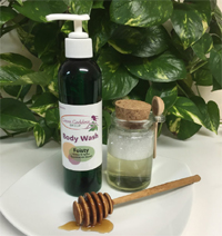 Organic Body Wash Feisty Essential Oil Blend