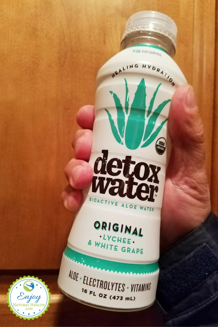 lychee and white grape flavored detoxwater