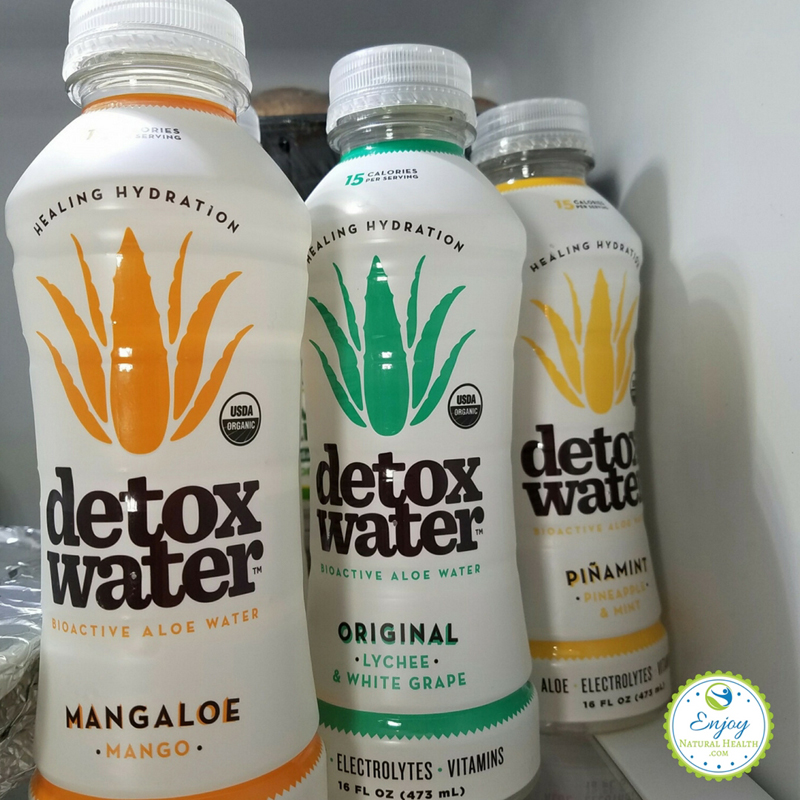 detoxwater chilling in the fridge