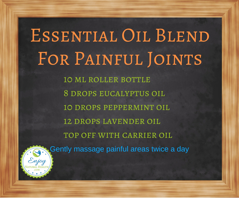 Essential Oil Blend For Painful Joints
