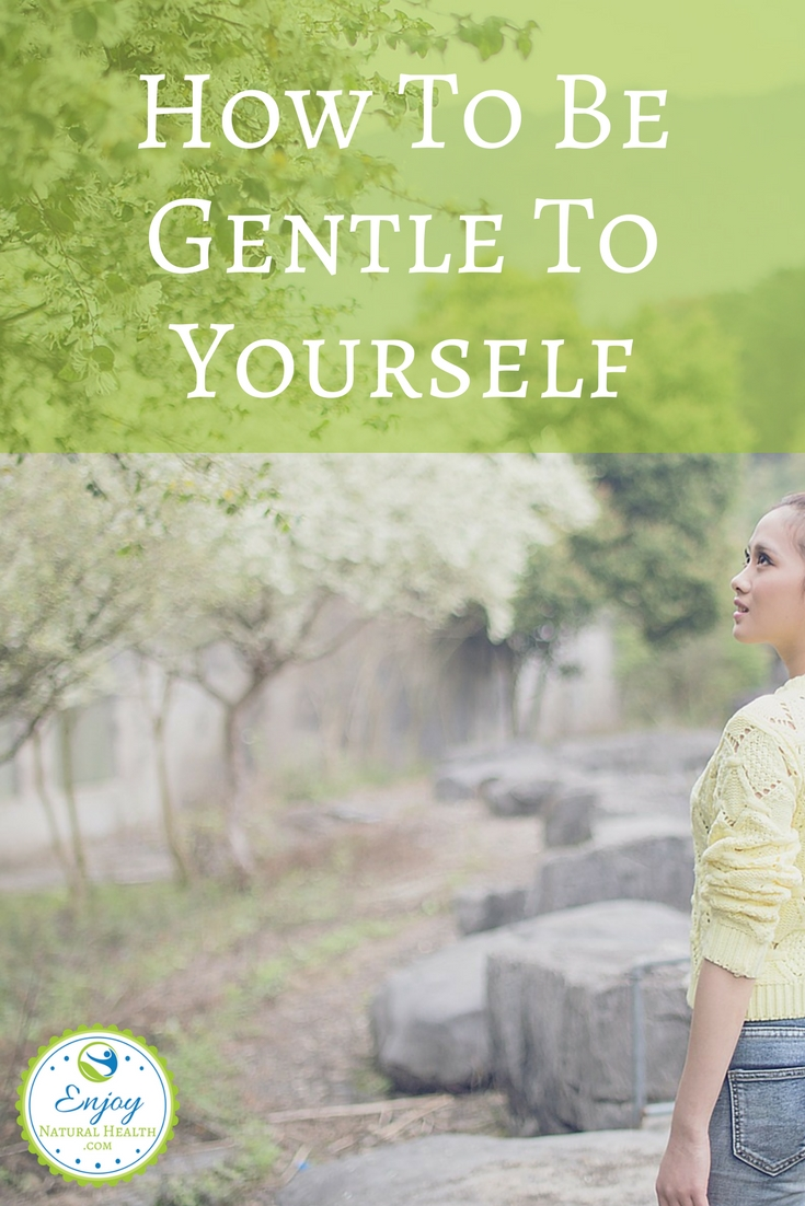 It's time to learn how to be gentle to yourself. Take time to care for your health and you'll accomplish a lot more for others as well ;)
