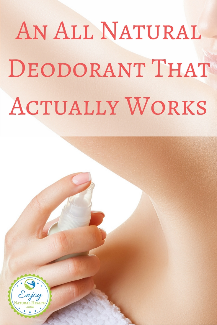 If you've been looking for an all natural deodorant that actually works, you need to give this a try! So simple, yet so effective!