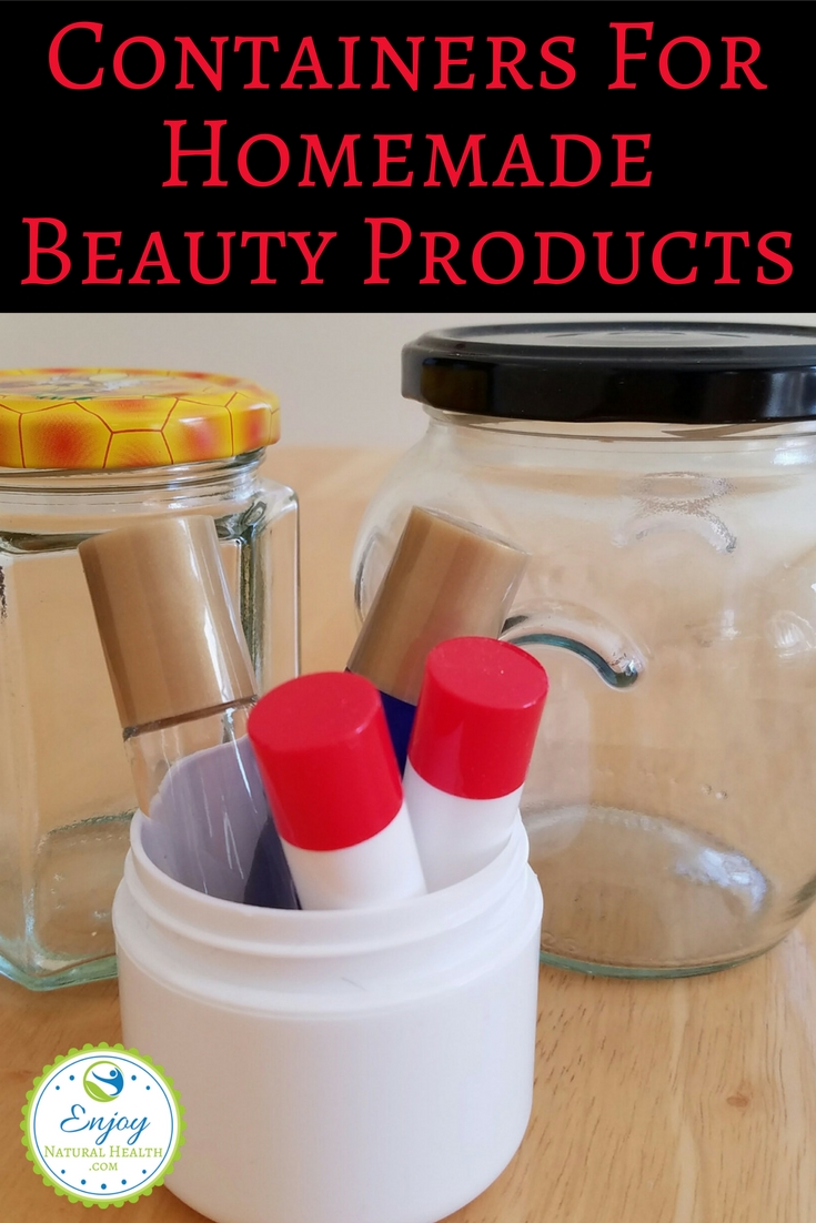 Do you make your own beauty products? Here are my favorite containers for DIY beauty products