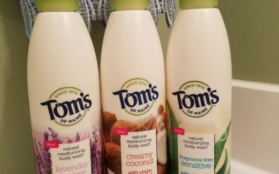Tom's of Maine body wash