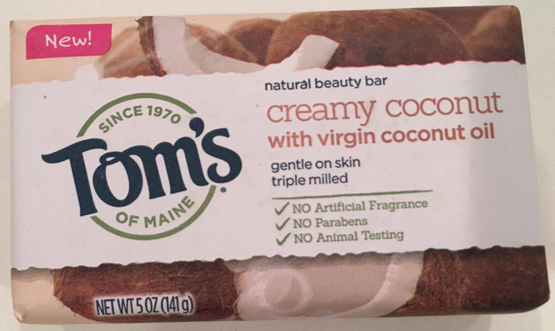 I love the Tom's Of Maine Soaps, especially this creamy coconut soap