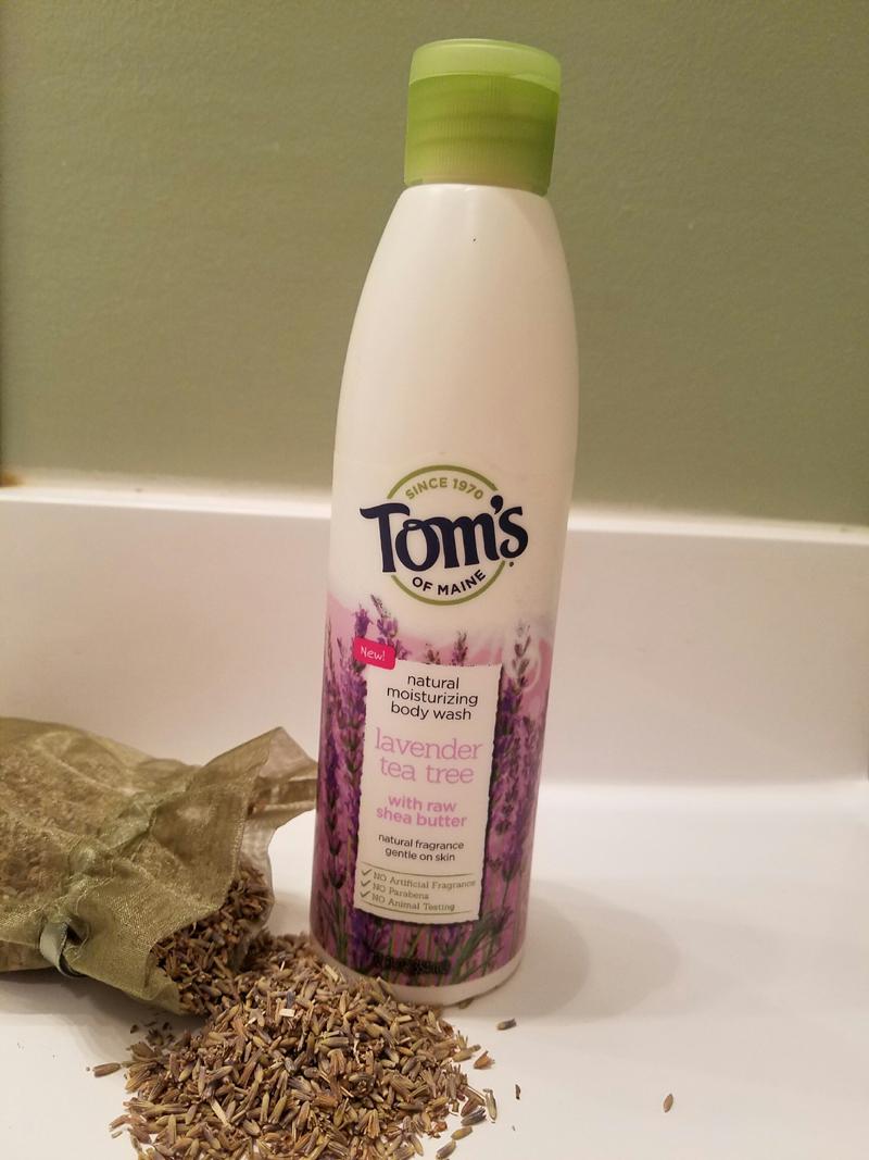 Tom's of Maine lavender tea tree body wash